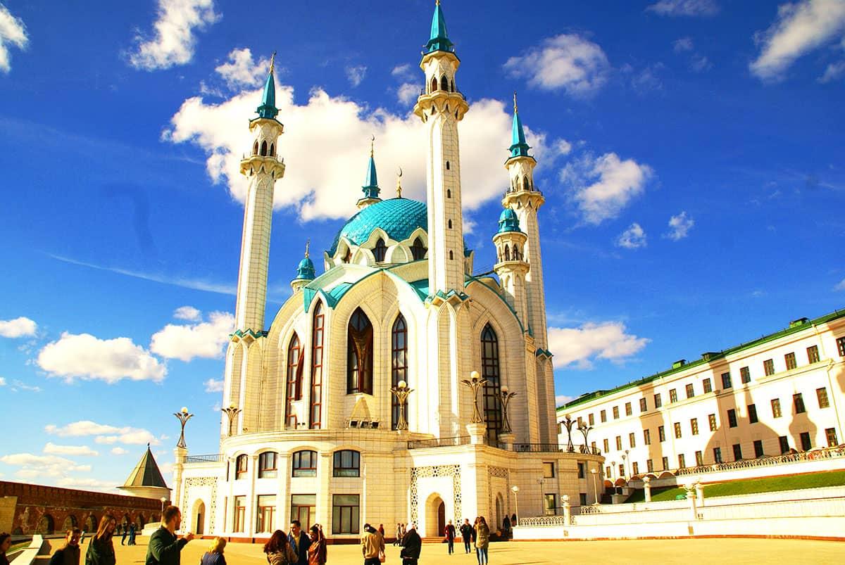 казань кремль мечеть кул шариф вызывает восторг от такой красоты