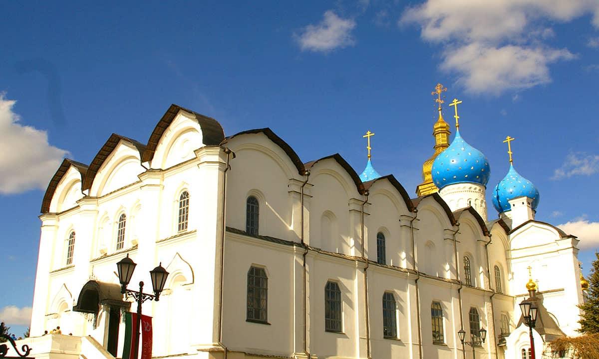 Величественный Благовещенский Собор Казанского кремля