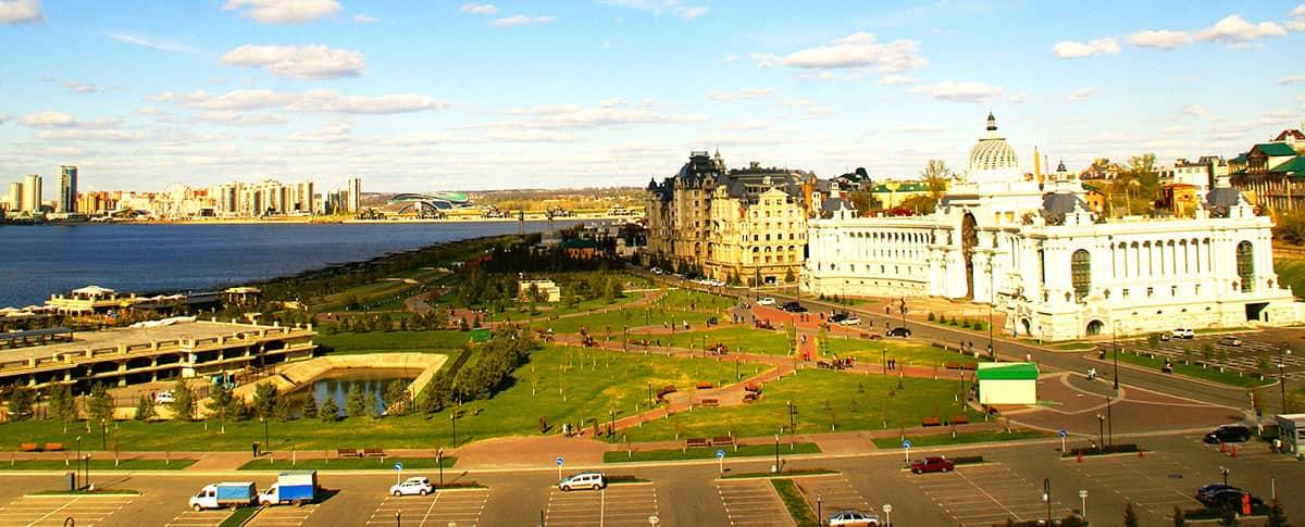 Смотровая площадка Казанского Кремля