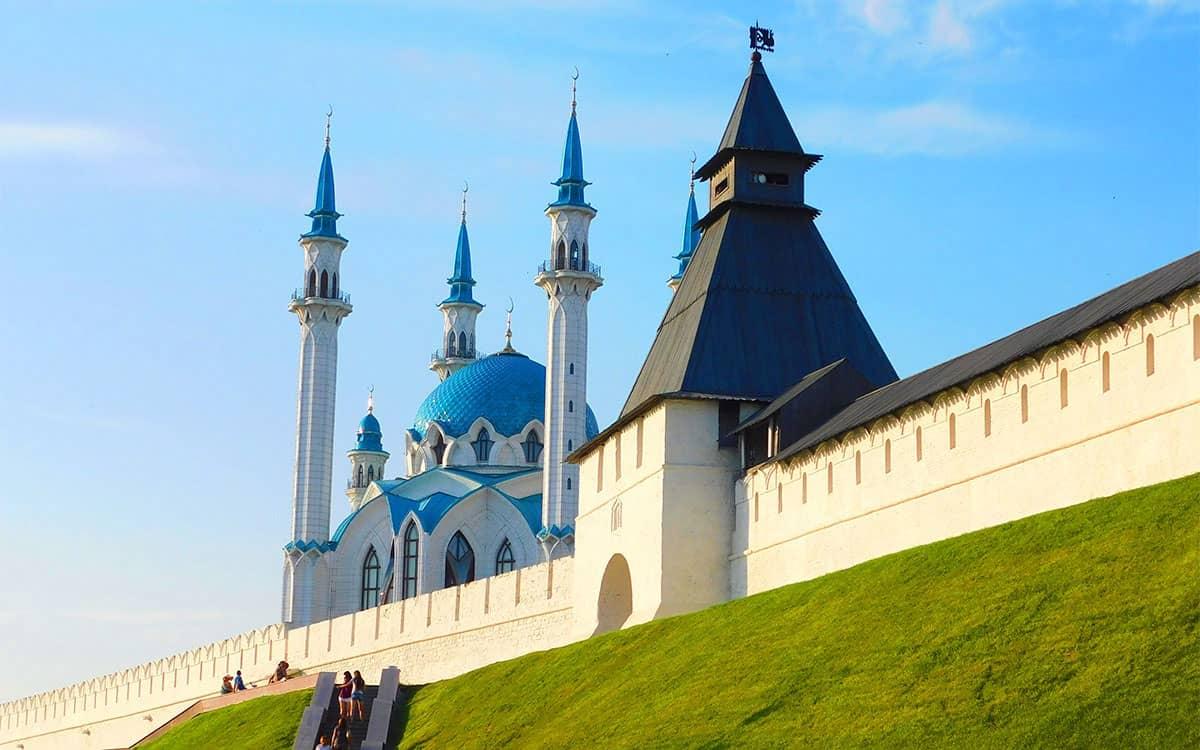 Великий архитектурный комплекс казанский кремль