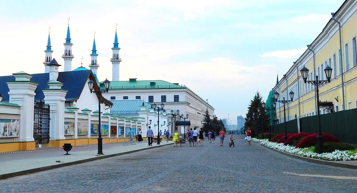 Великие достопримечательности казанского кремля
