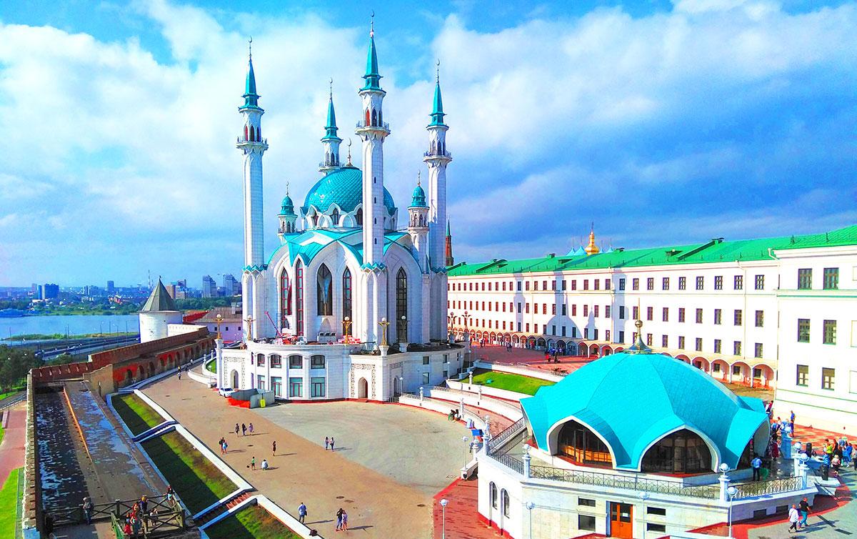Главная мечеть Кул Шариф в Казани