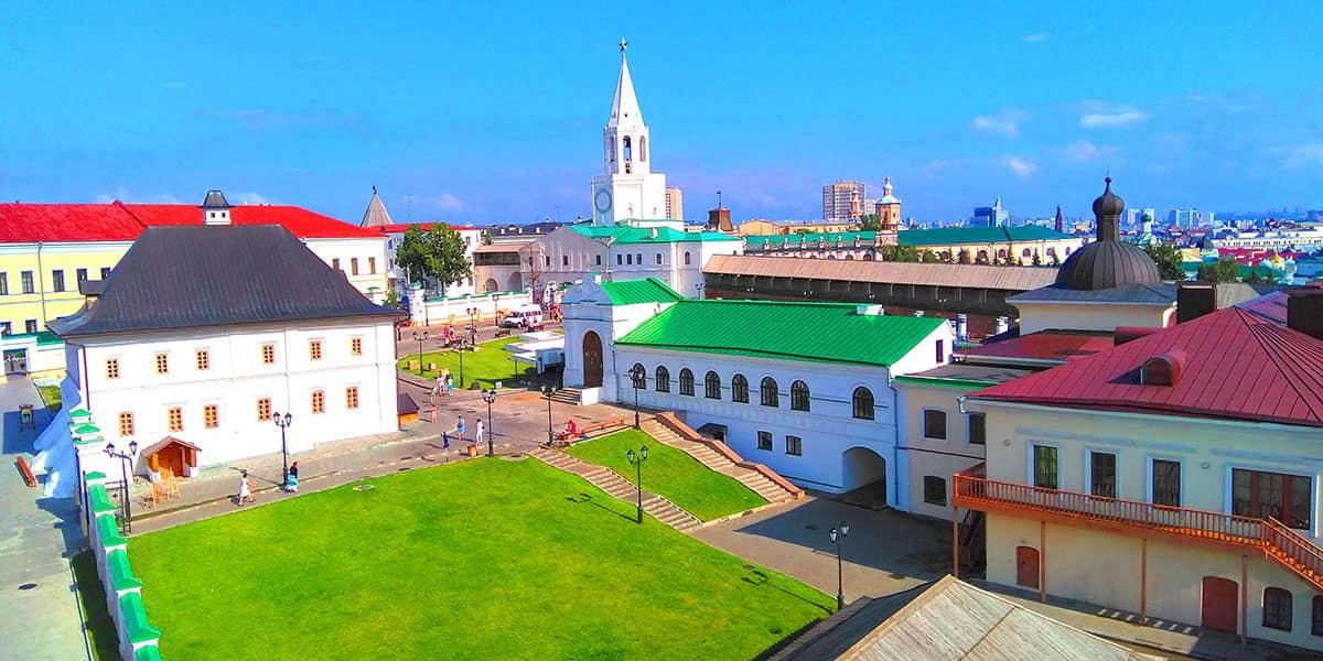 Казанский кремль фото - это всегда потрясающие виды