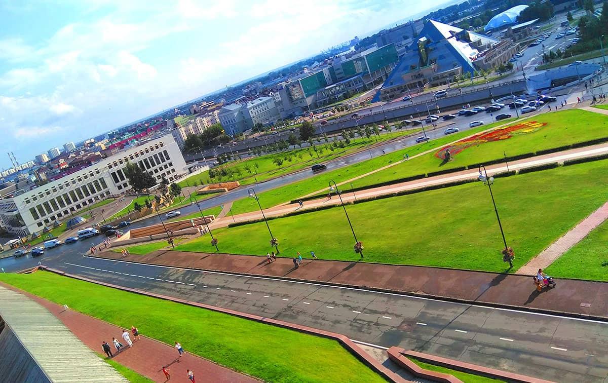 Преображенская башня на территории Казанского Кремля
