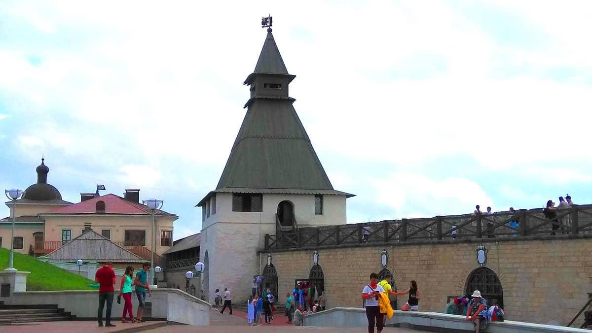 преображенская башня казанского кремля