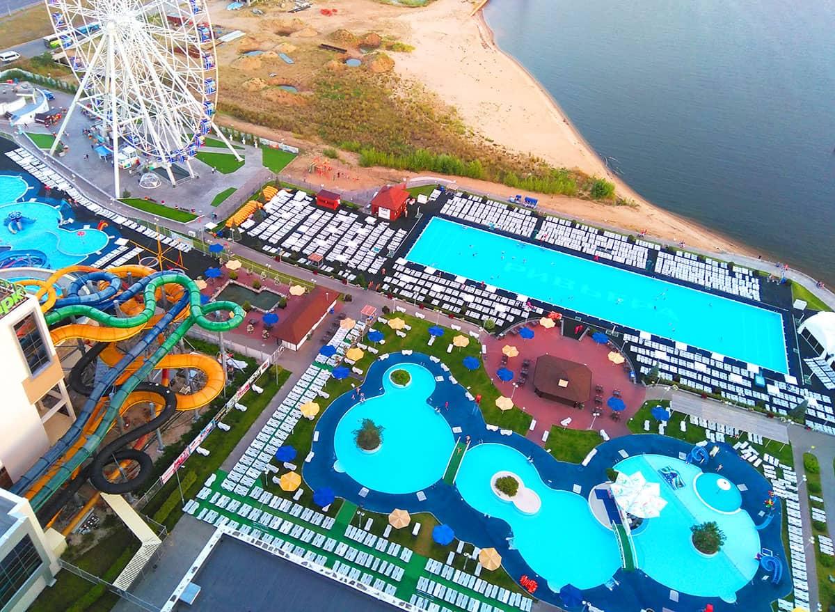 казанский аквапарк ривьера для любителей активного времяпровождения