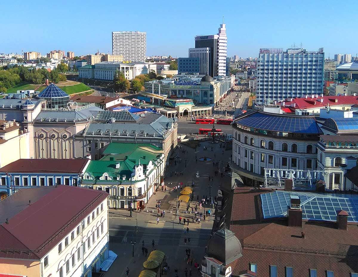 Смотровая площадка на Колокольне Богоявленского собора