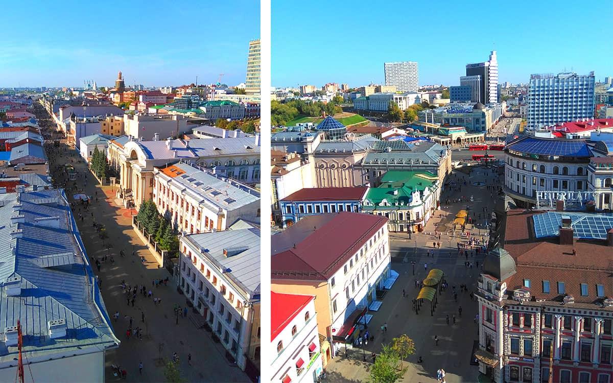 Колокольня Богоявленского собора - смотровая площадка