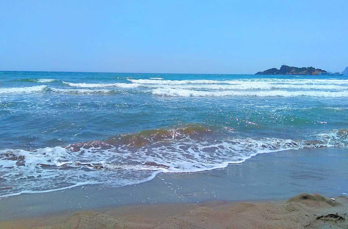 Пляж Истузу в мармарисе