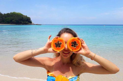 экзотические фрукты из тайланда