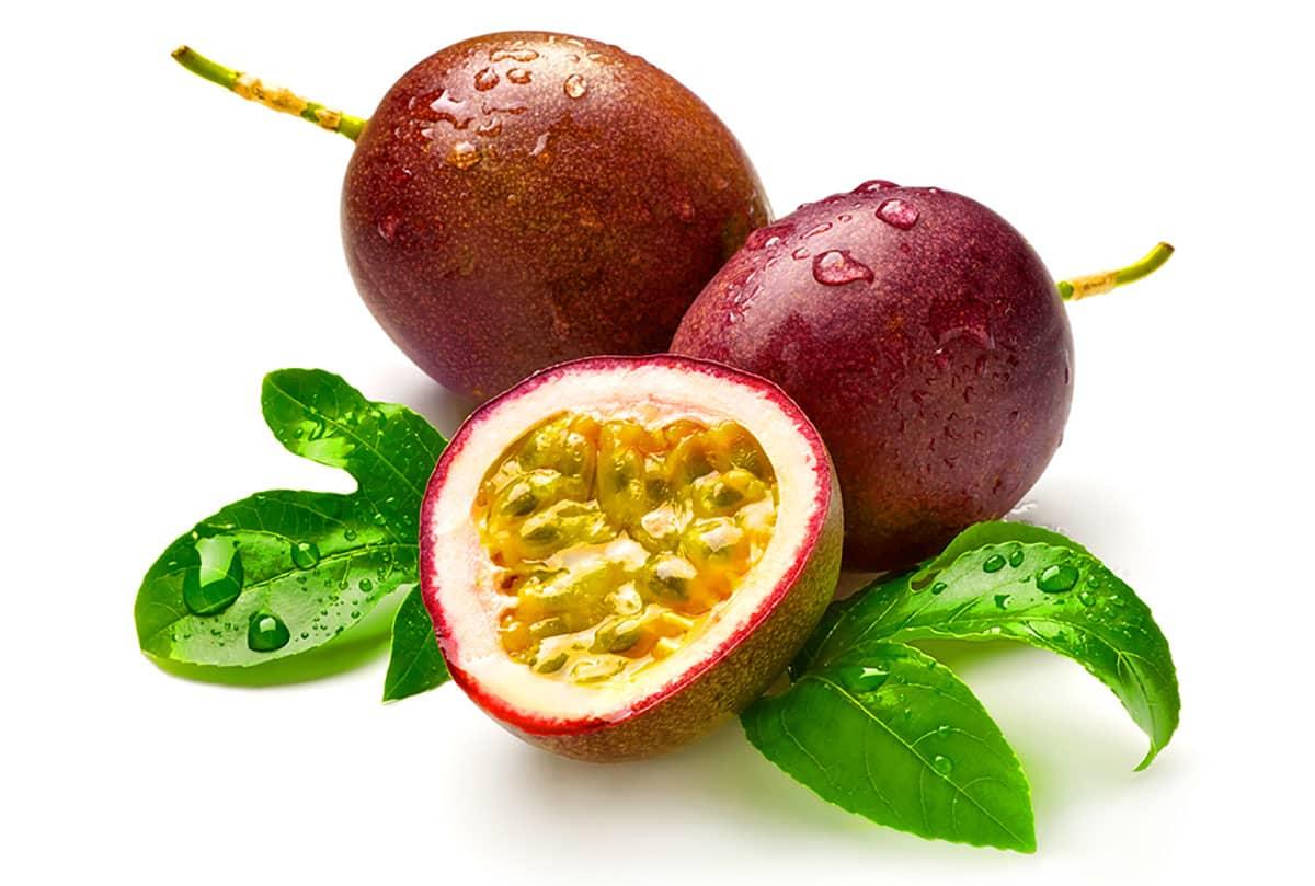 Вкусный тайский маракуйя фрукт