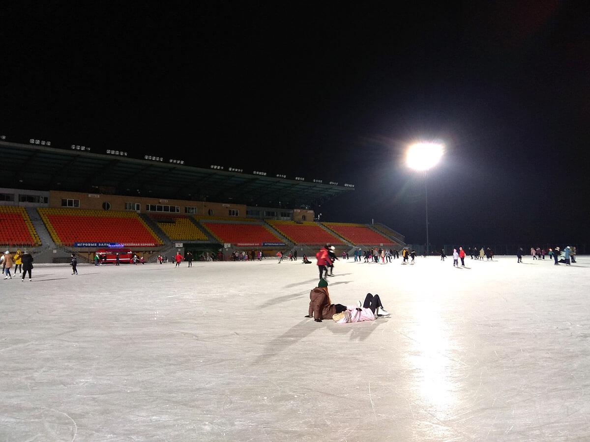 Стадион «Трудовые резервы» — Массовое катание Казань