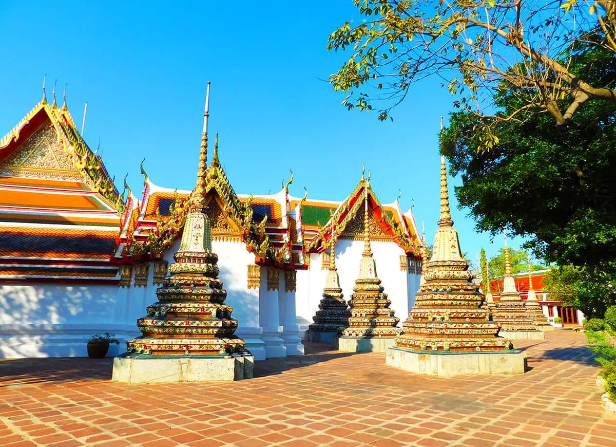 Ват Пхо — Храм лежащего Будды в Бангкоке