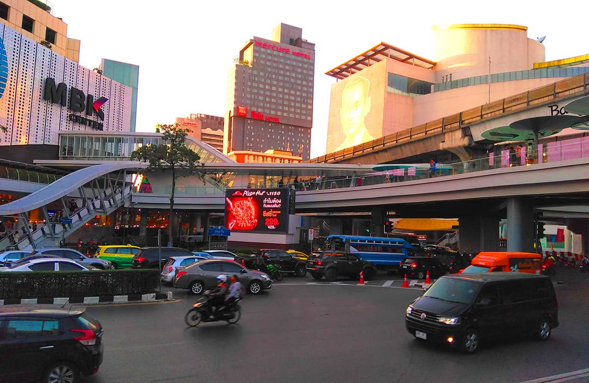 Насыщенное путешествие по Бангкоку
