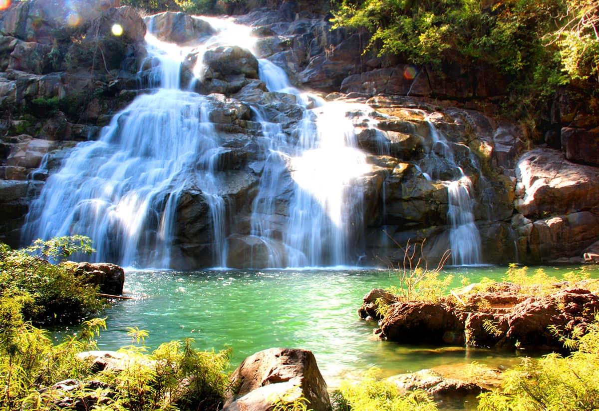 Живописные водопады Пхукета