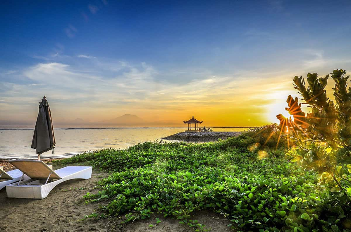 Бали - безвизовая пляжная страна