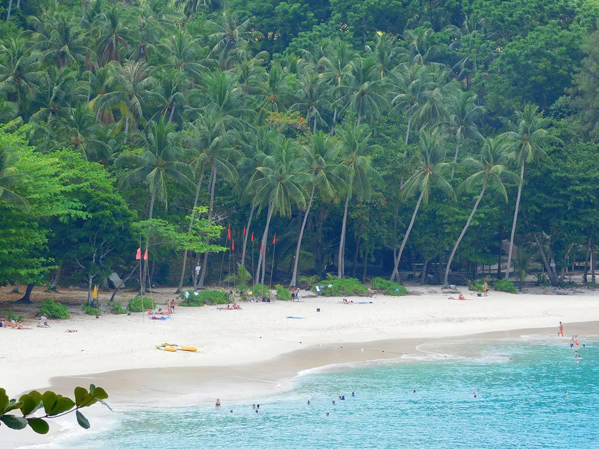 Самый лучший пляж на Пхукете Фридом