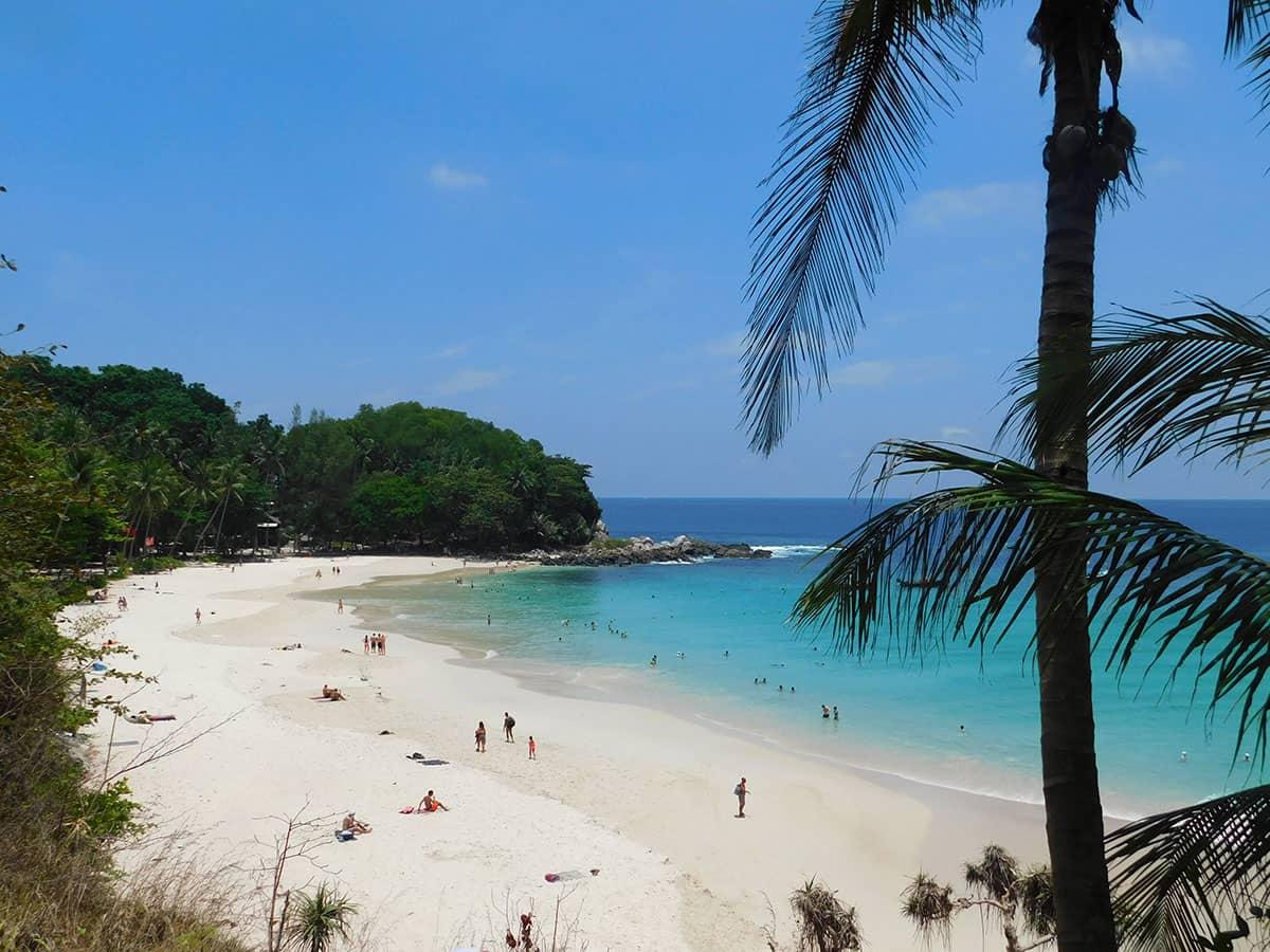 Пляж Фридом на острове Пхукет