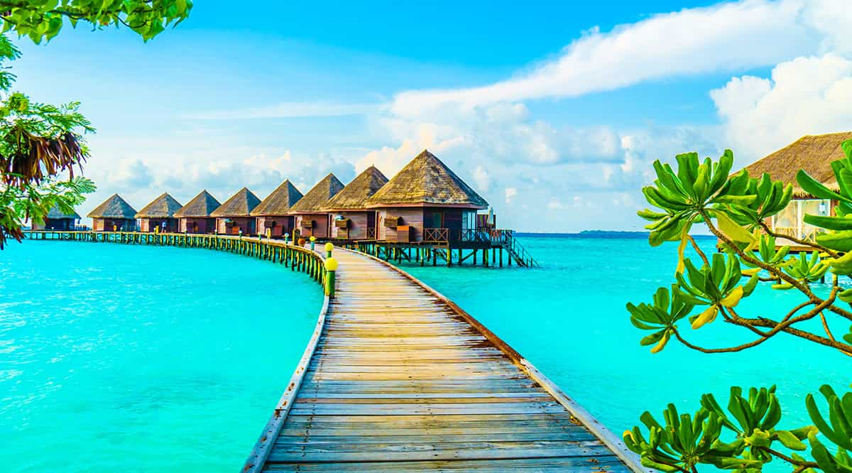 Мальдивы находятся в списке безвизовых пляжных стран для отдыха