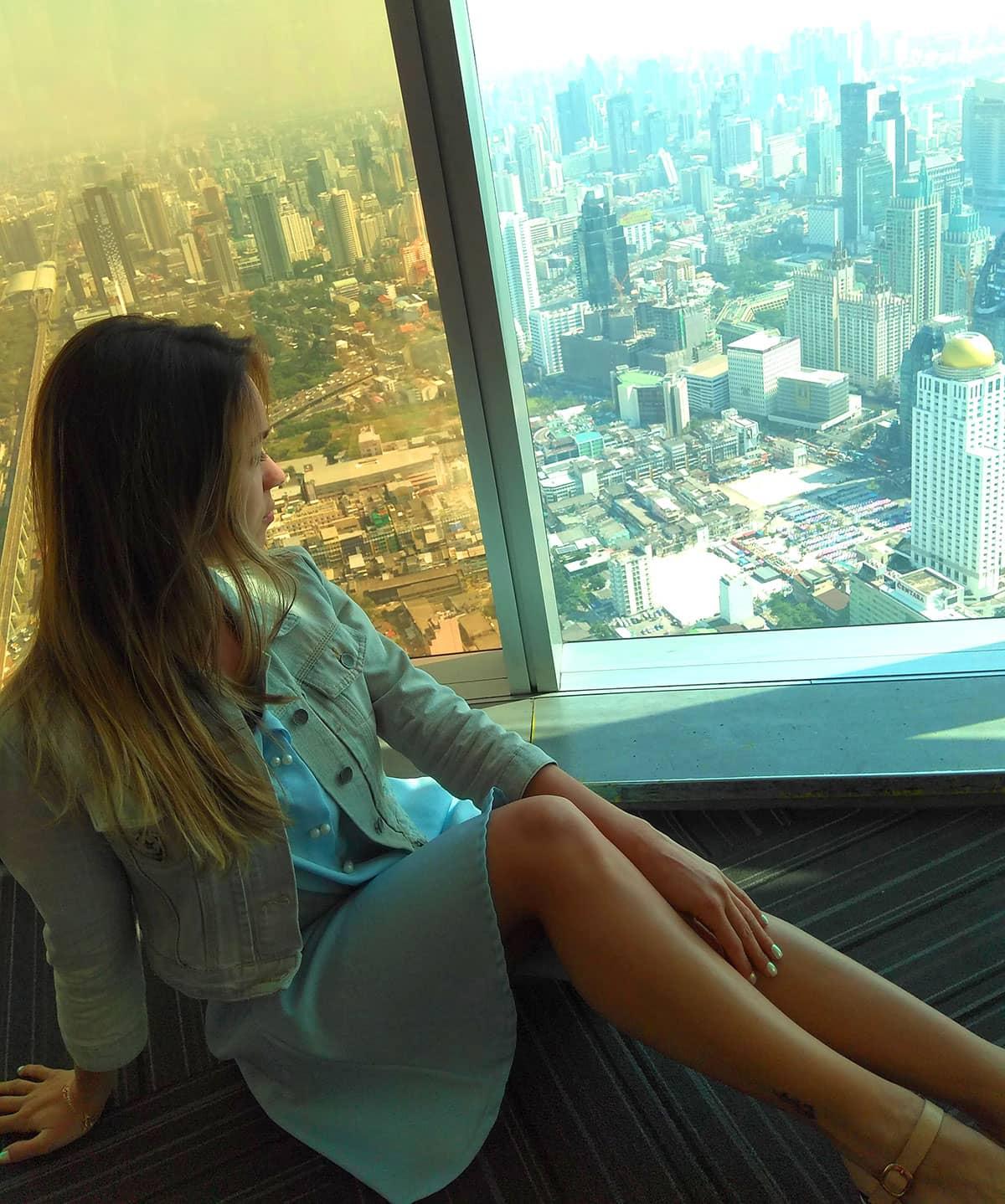 Обзорная башня Baiyoke Sky в Бангкоке