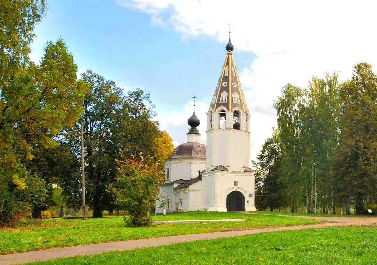 Успенский собор в Плесе