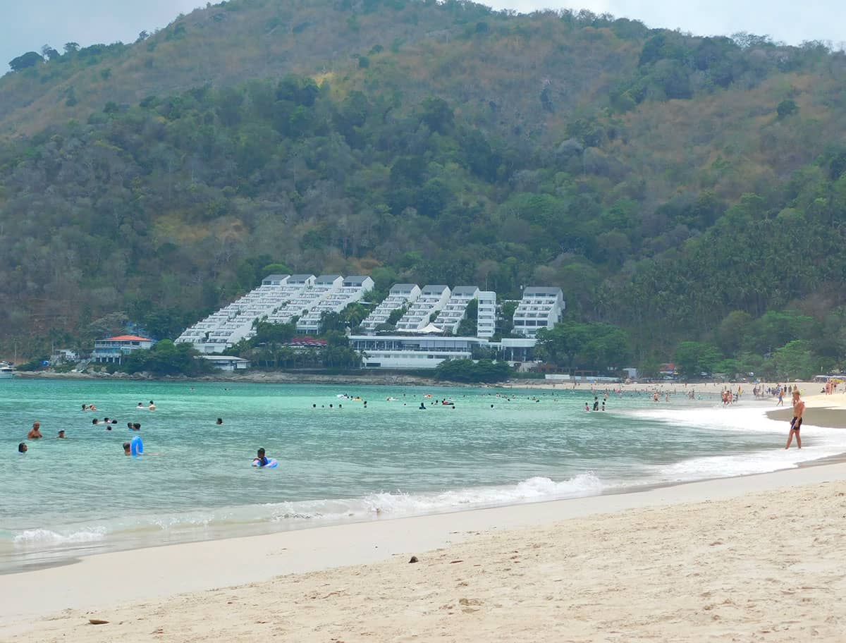Хороший Пляж Най Харн на Пхукете