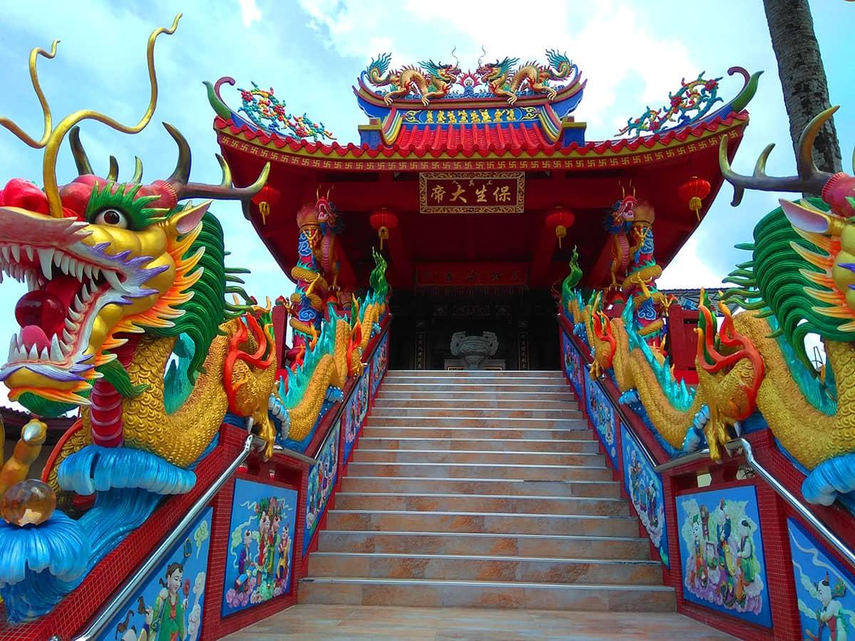 Китайский Храм на Кате