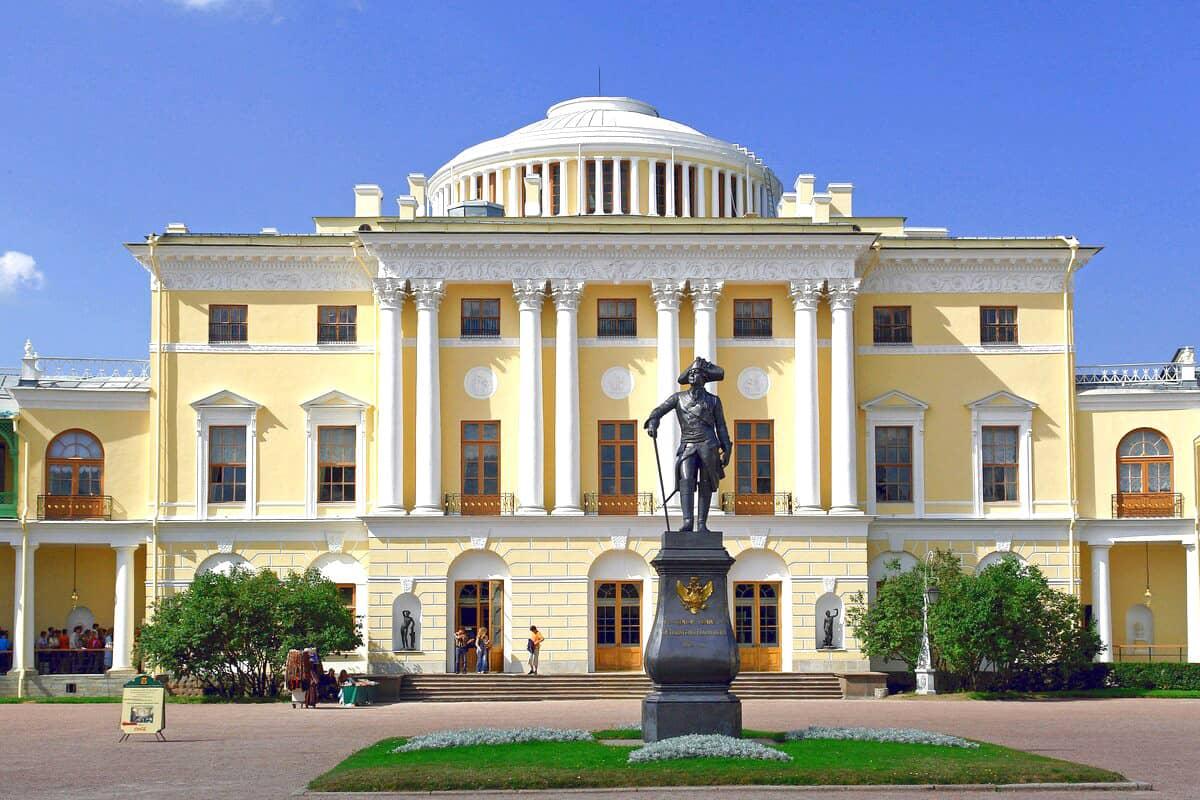 Павловский дворец в Питере