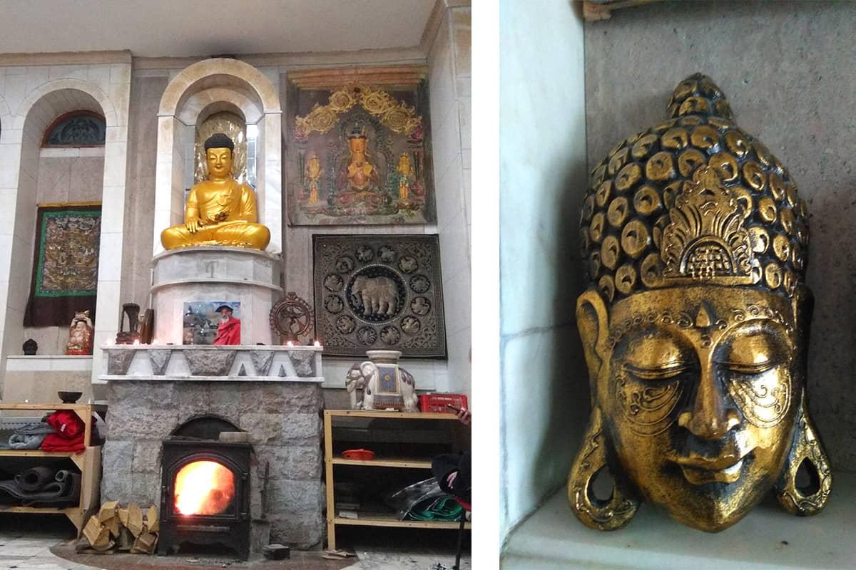 Буддийский зал Храм всех религий