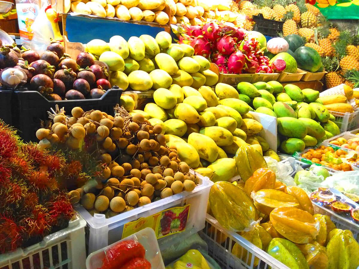 Цены на фрукты на Пхукете