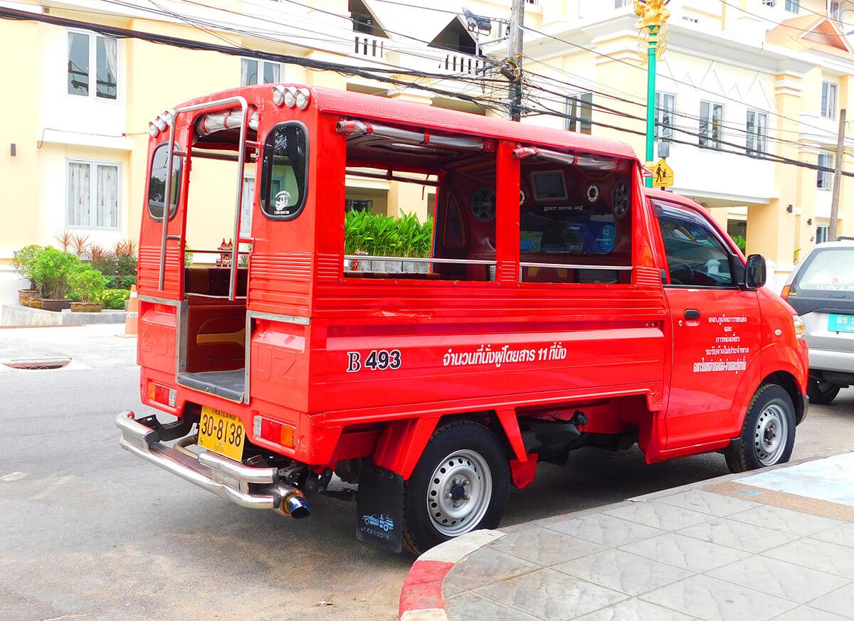 Транспорт на Пхукете цены