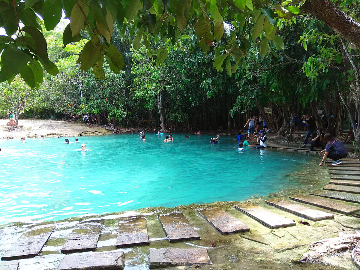 Emerald and Blue Pool