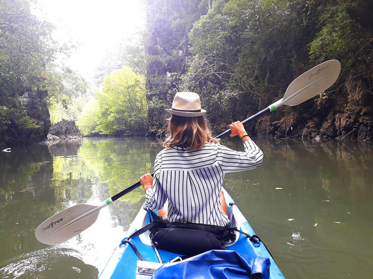Ao Thalane kayak