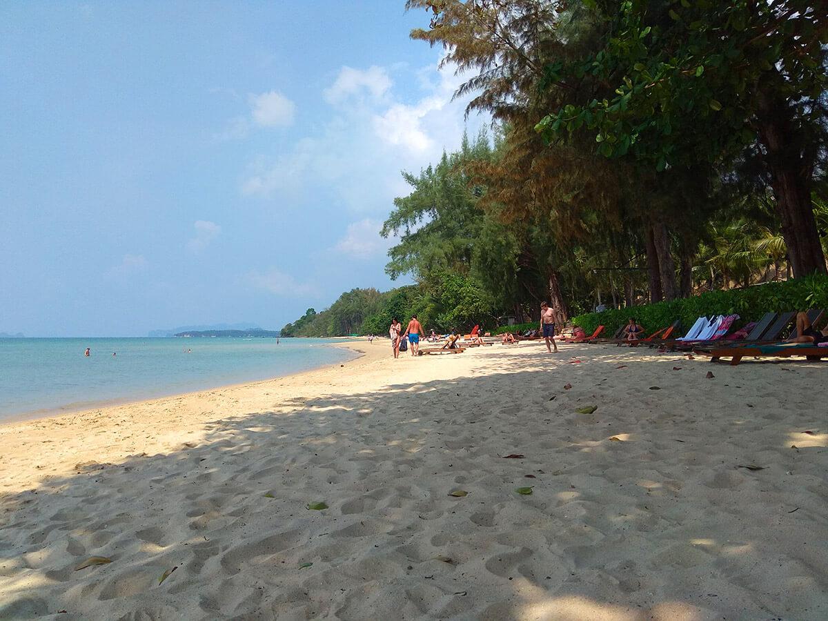 Пляж Туб Каек Краби
