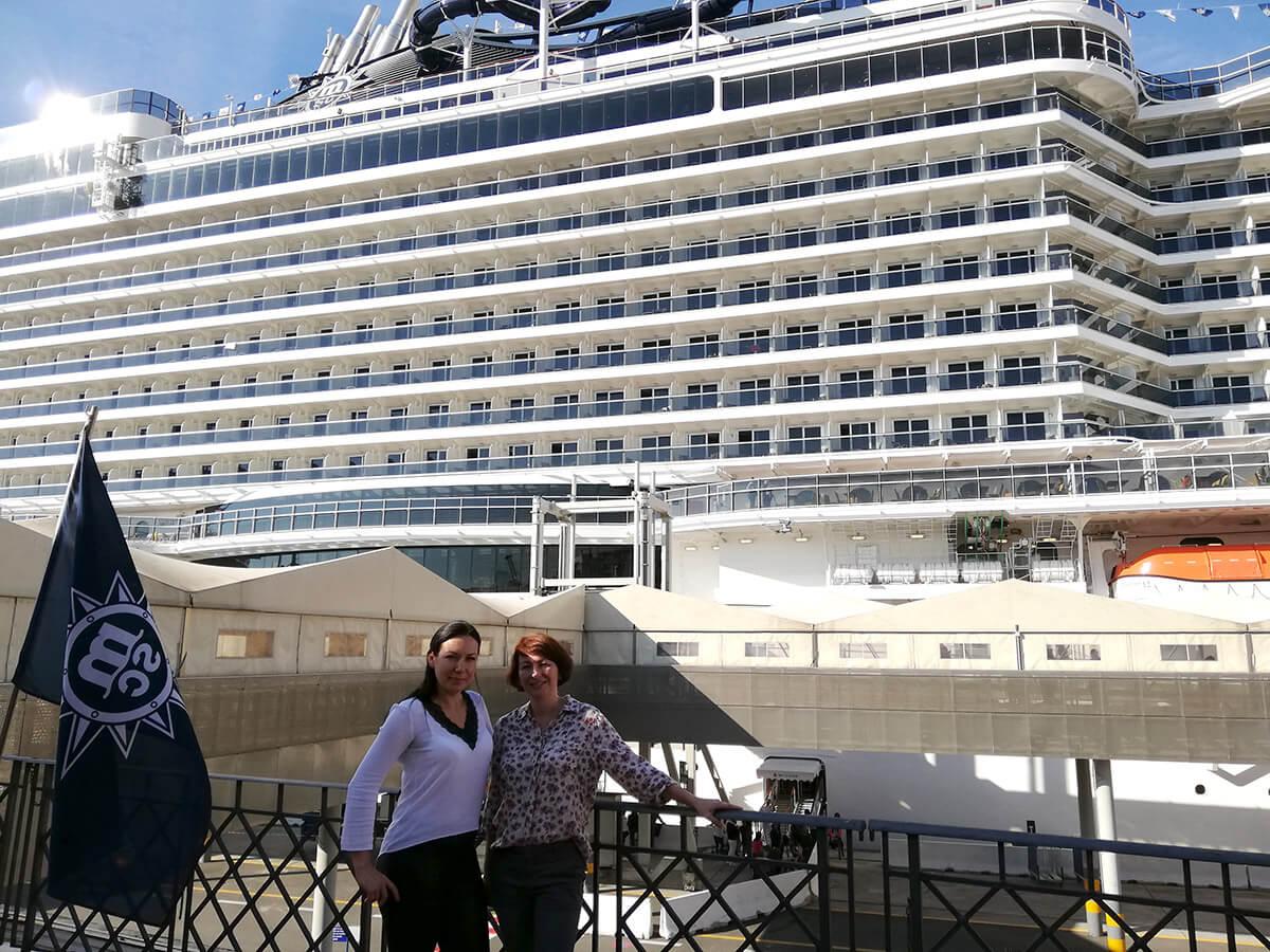 интервью про путешествие на круизном лайнере