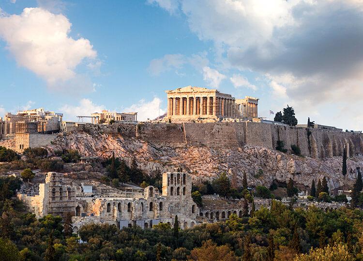 какие достопримечательности можно посмотреть в греции