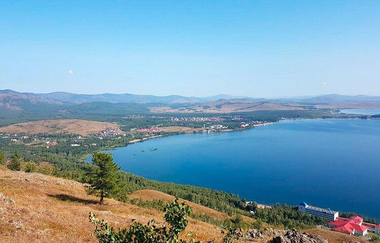 Озеро Банное или Якты-Куль