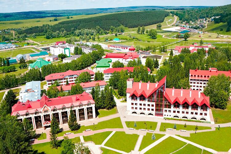 Курортный поселок Красноусольский