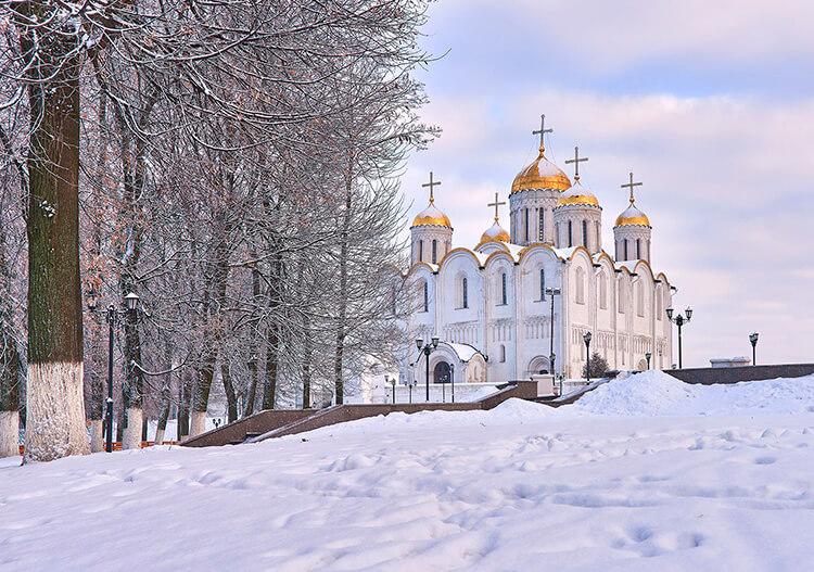 отдых зимой в россии куда поехать